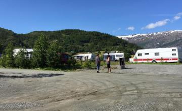 Døgnplasser © Bardal Camping